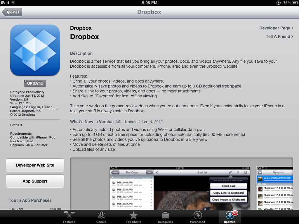 Get up to 3GB extra storage for free with the new Dropbox