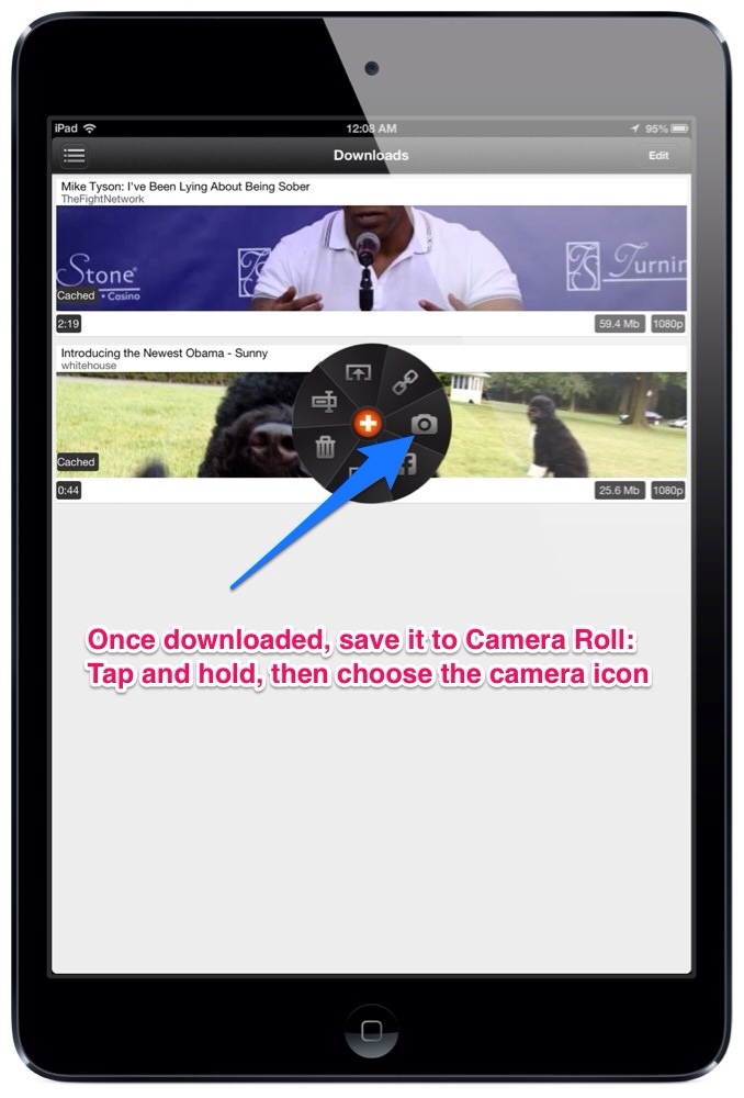 ProTuber for YouTube [free] - Save YouTube Videos to Camera Roll! (3/3)
