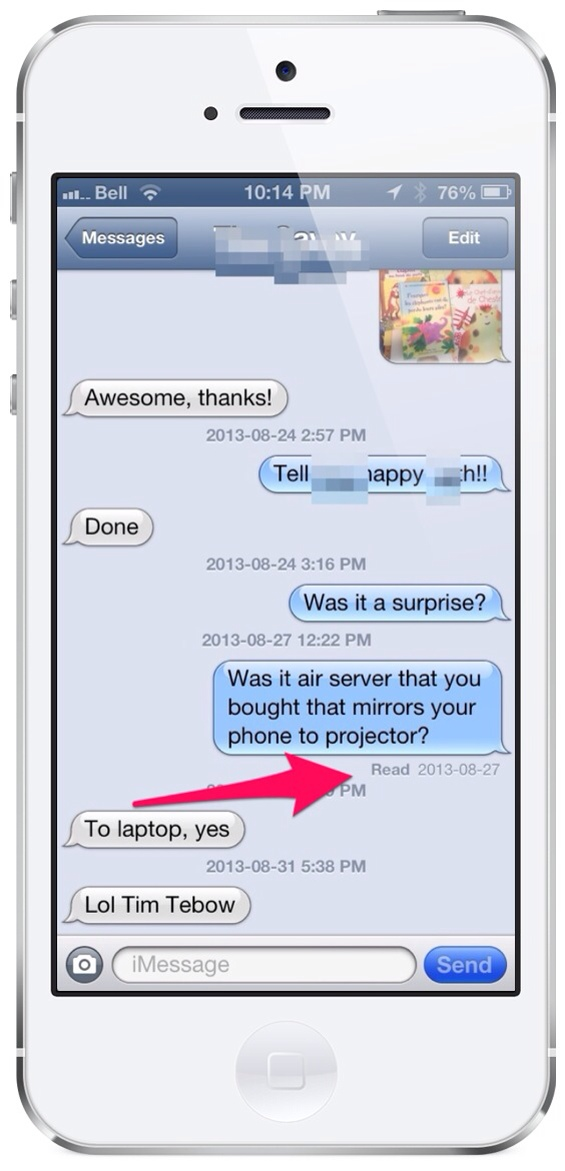 "Should I turn off ""Read Receipts"" on iMessage? – teachingwithipad org"