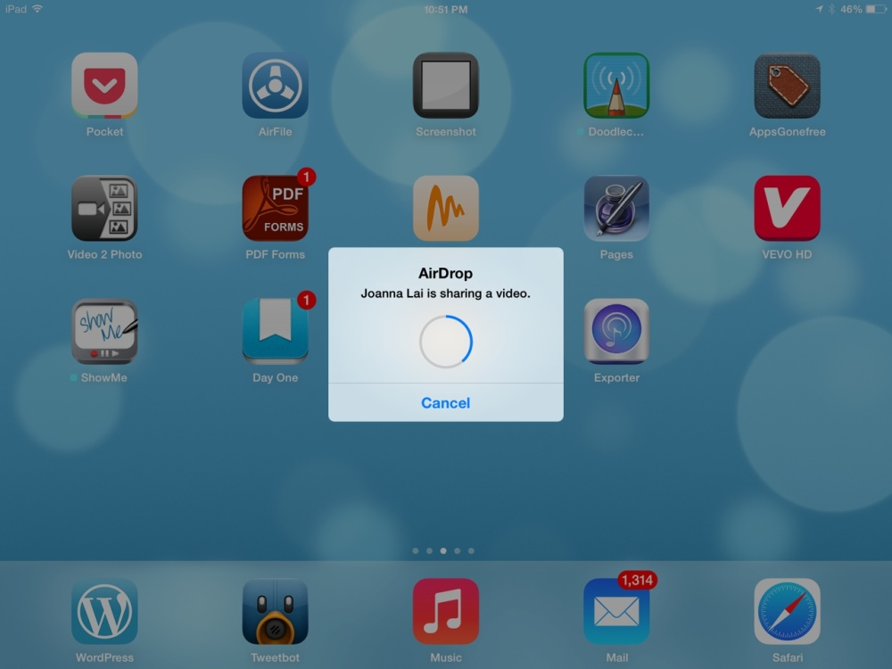How to use AirDrop - iOS 7's most important new feature for teachers (3/3)