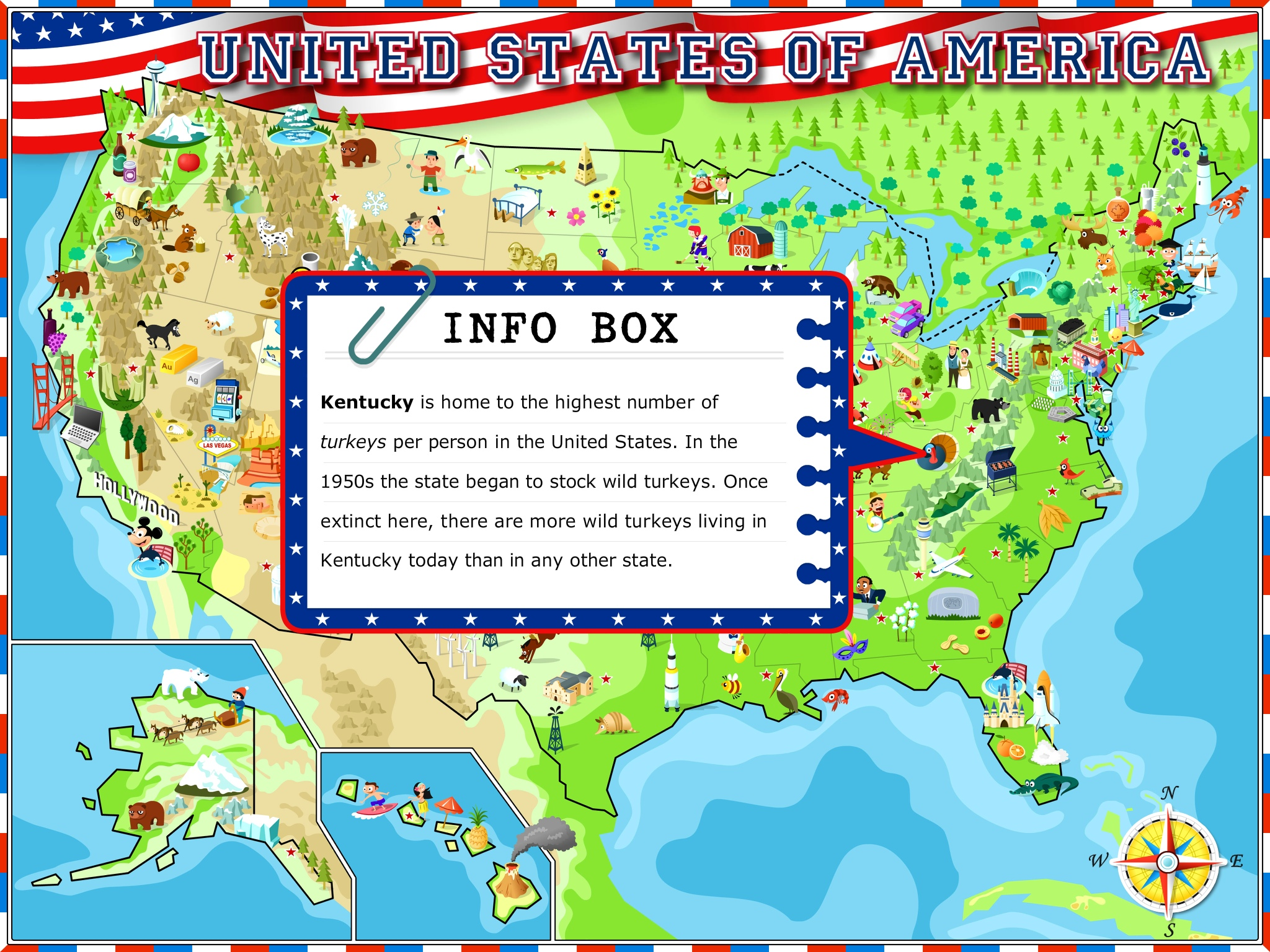 App  USA Illustrated Atlas  Teachingwithipadorg - Us map with states and capitals and abbreviations