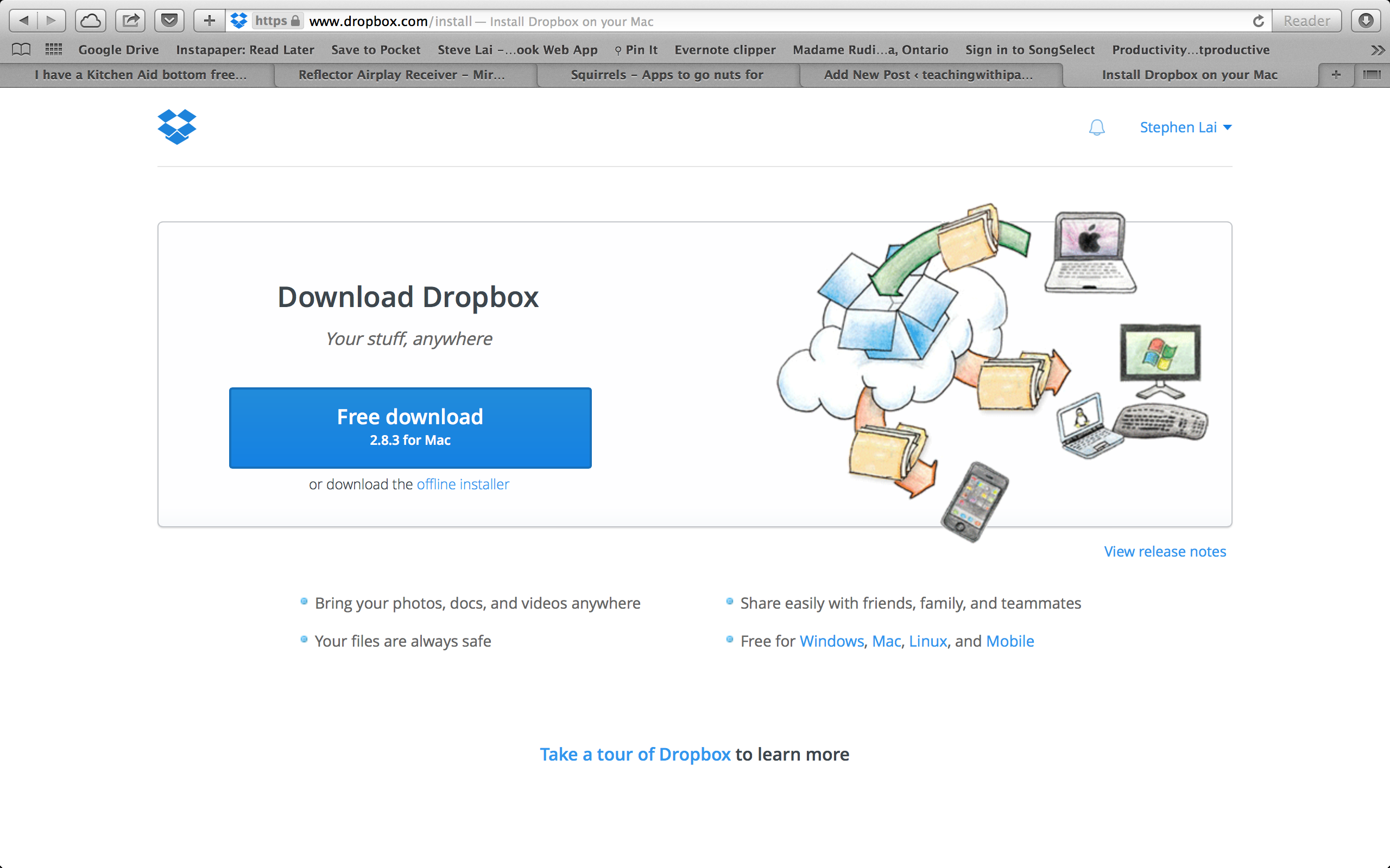 Dropbox Tip: Saving Local Files on your Computer – teachingwithipad org