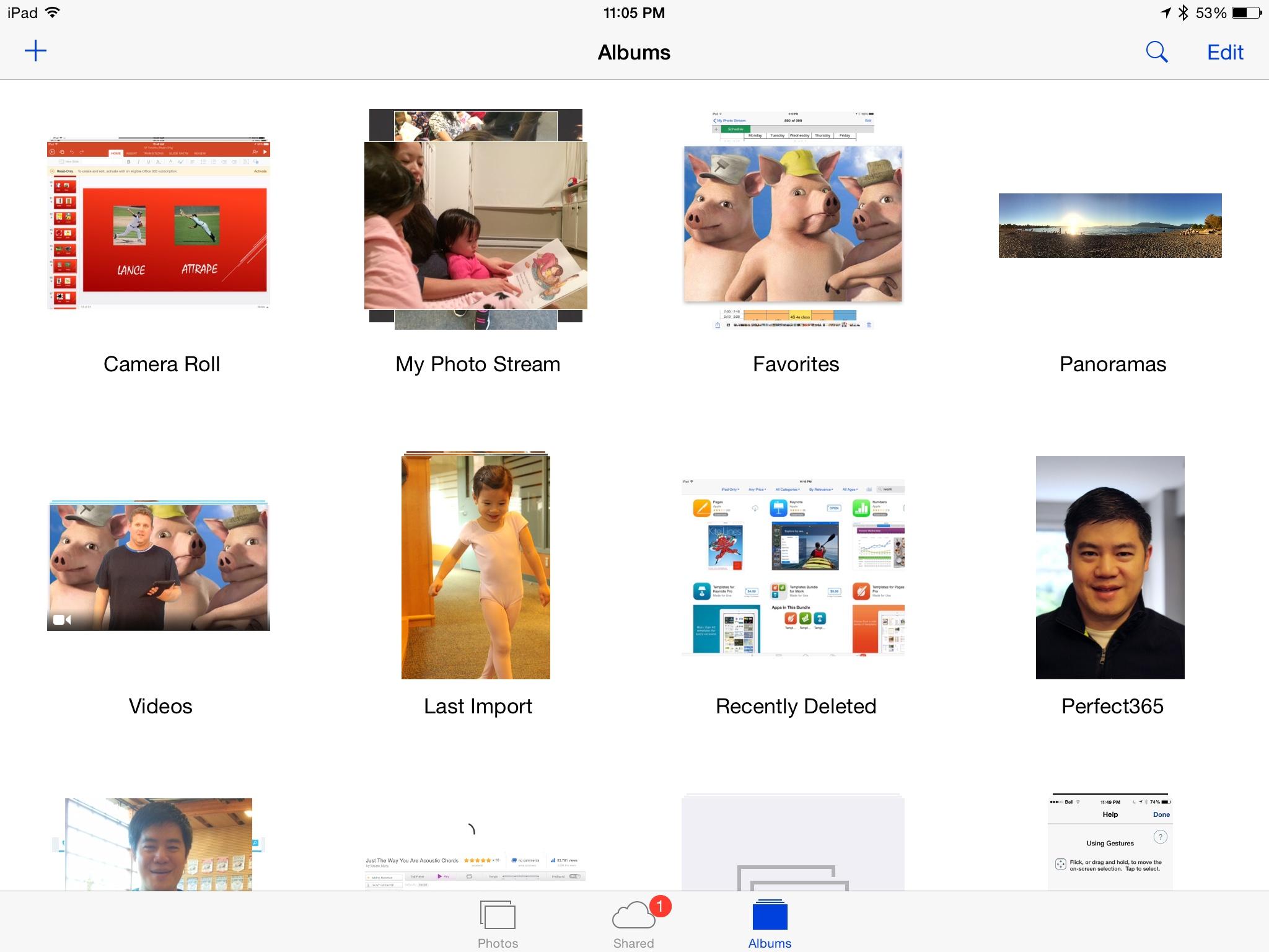 How to Use Photos (Albums) vs. Photo Stream