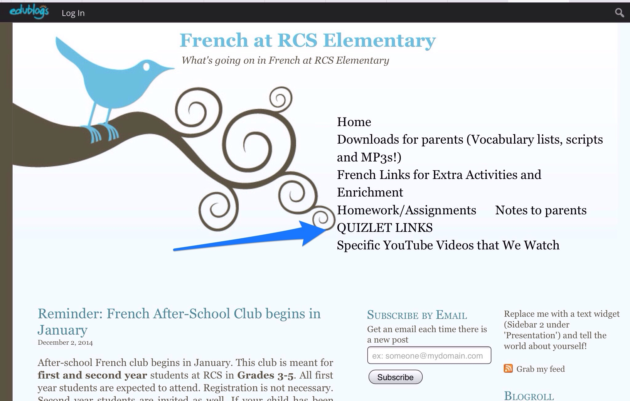 How to Sign up for Quizlet | French at RCS Elementary