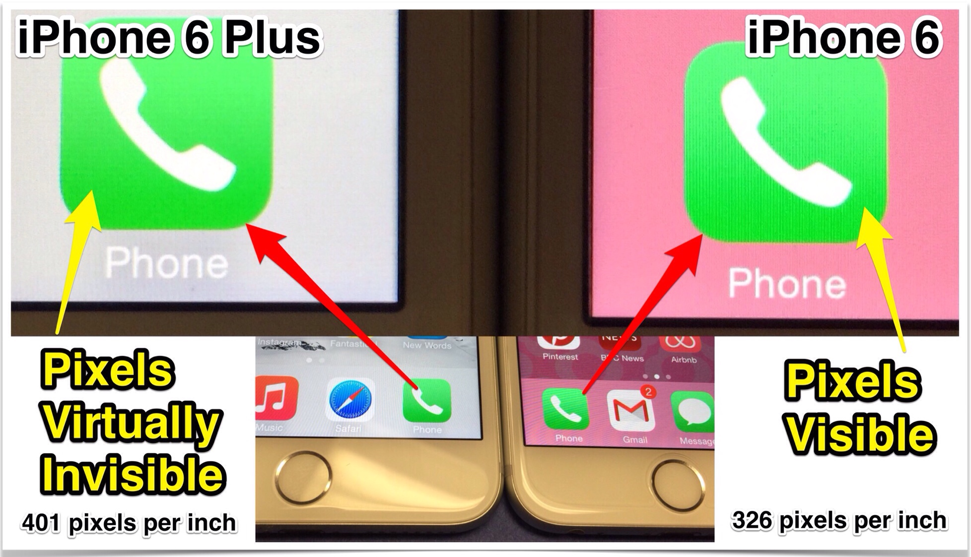 iphone 6 plus resolution iphone 6 plus vs iphone 6 the best 100 you ll 15038