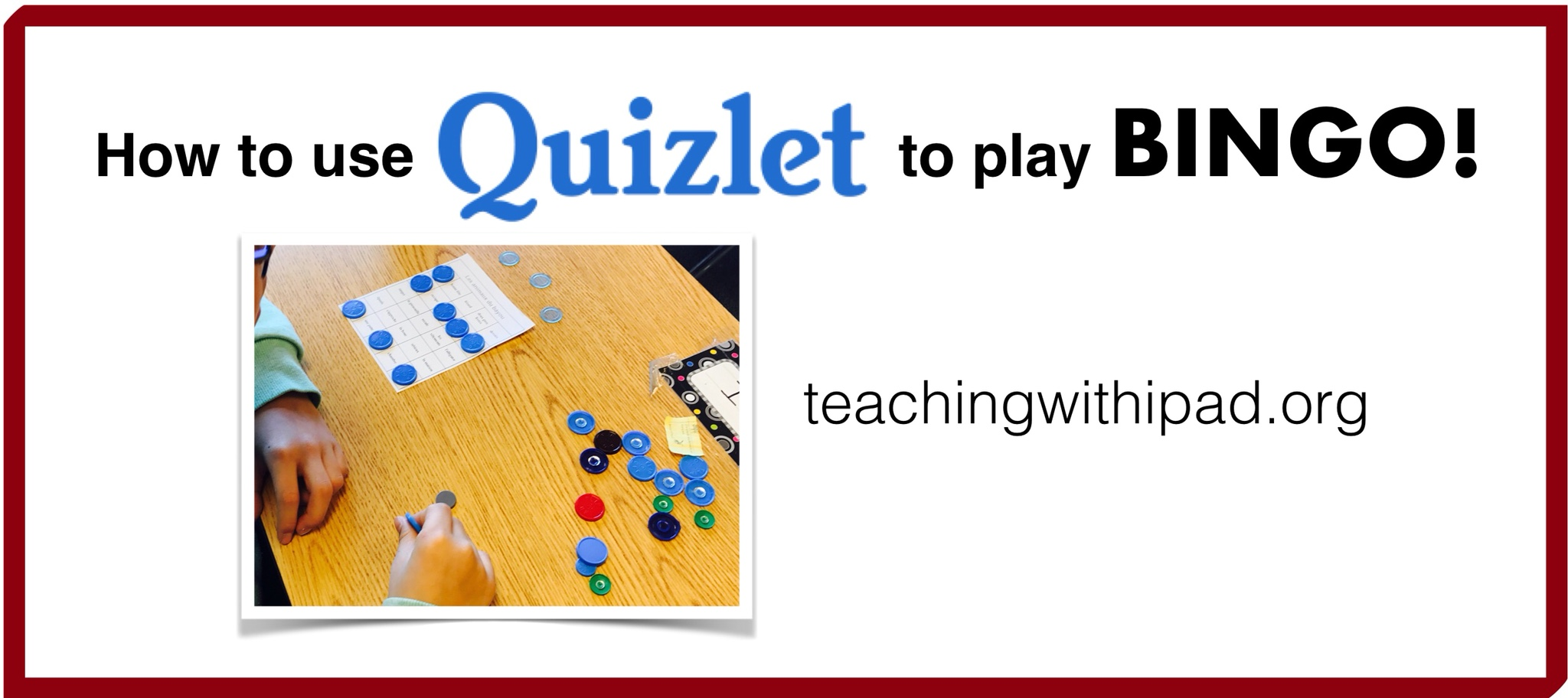 Use Quizlet to Play Bingo in your Classes! – teachingwithipad org